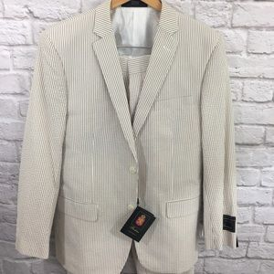 NWT! Pinstriped Suit